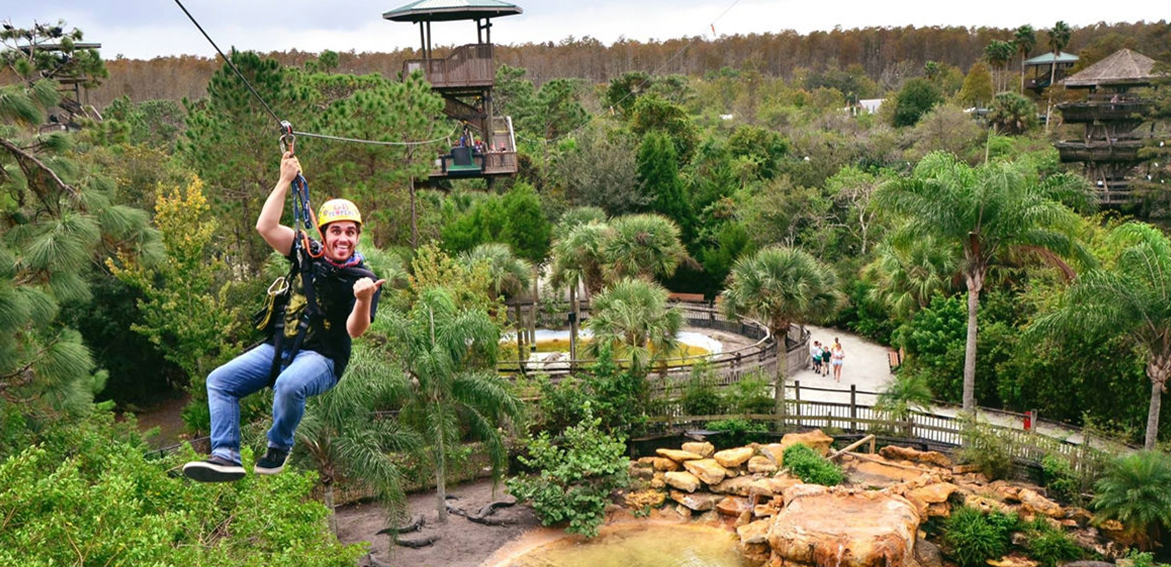 Gatorland Screamin Zipline